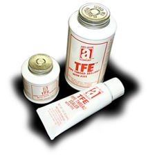 Picture for category <p><strong>TFE™</strong> is a superior-grade, non-hardening, heavy-duty pipe thread sealant that is easy to-apply. Formulated to a thick paste consistency, its fortified with an extra amount of PTFE and PTFE materials to give a positive seal with less effort Because of its unique solids content, <strong>TFE</strong> fills thread imperfections and provides leak-proof joints that seal for the life of the connection.</p>