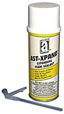 Picture for category <p><strong>AST-Xpand™</strong> is an expanding urethane foam ideal for permanent sealing of holes, spot-insulating, and sealing out air, dust, and moisture. Formulated for easy use, the foam expands to three times its original volume, bonds to wood, metal, masonry, glass, and most plastics. Adequately fills voids and provides a tight seal.</p>