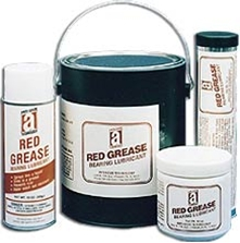 Picture for category <p><strong>Red Grease</strong> meets the growing need for a heavy-duty, highly-adhesive, water-resistant grease with very high load carrying capabilities (Timken EP rating of 70 lbs). <strong>Red Grease</strong> is extremely tacky as a result of using stable polymers which impart excellent metal adhesion properties.</p>