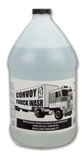 Picture for category <p><strong>Convoy™</strong> is a breakthrough for commercial vehicle cleaning. Its balanced blend of biodegradable surfactants and detergent builders electrochemically penetrate and remove road film from transport vehicles without brushing. Most effective when used with a pressure washer.</p>