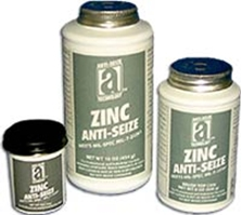 "Picture for category <p><strong>Zinc Anti-Seize™</strong> is a smooth mixture of zinc dust and petrolatum compound to prevent seizing and corrosion within metal joint assemblies. Recommended for aluminum and aluminum alloys. Protects against corrosion through the electrochemical ""Galvanizing"" properties of the zinc dust on both aluminum and ferrous metal (iron) components.</p>