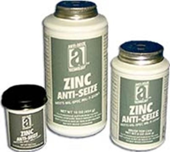 45002, ZINC ANTI-SEIZE - 2 0z Brush Top
