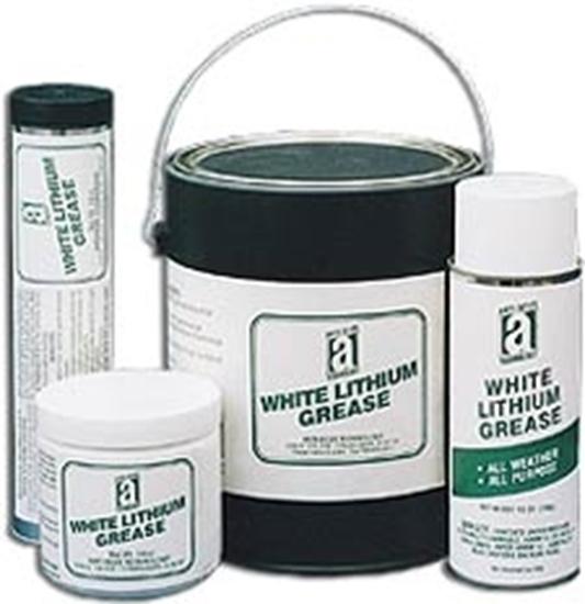 24205, WHITE LITHIUM GREASE - 5 lb Pail