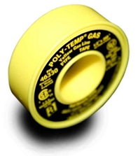POLY-TEMP® GAS (XHD) - Yellow GAS Line PTFE Tape