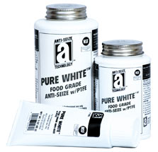 PURE WHITE™ - Anti-Seize Compound with PTFE (Food Grade)