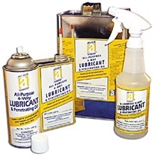 Picture for category <p><strong>All-Purpose 4-Way™</strong> is formulated to lubricate, penetrate, and displace moisture, leaving parts with a protective anti-rust film. This lubricant protects metal parts which helps eliminate pounding and breakage during disassembly. <strong>All-Purpose 4-Way</strong> has no CFCs, chlorinated solvents, or silicones.</p>