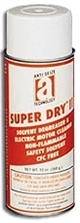 Picture for category <p><strong>Super Dry® II</strong> is a quick-drying, non-flammable solvent degreaser designed to be used on energized electrical equipment or where residual electrical potential exists. It has a dielectric strength of 45,700 volts and does not allow current creep between components. It also displaces moisture to restore optimum performance.</p>