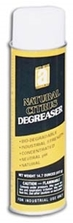 Picture for category <p><strong>Natural Citrus Degreaser</strong> isa very effective, safe, and heavy-duty cleaner/solvent. Contains a citrus base to remove contaminants such as adhesives, grease, oil, tar, waxes, and inks from most surfaces.</p> <p><strong>Features and Benefits:</strong></p> <ul> <li>Environmentally safe, bio-degradable</li> <li>Neutral PH</li> <li>Non-chlorinated, non-corrosive, non-toxic, non-caustic</li> <li>Quick acting</li> <li>Deodorizes as it cleans.</li> <li>Aerosol is CFC Free</li> </ul> <p><strong>Applications:</strong> Cleaning, dissolving, and deodorizing dirt, grime, and grease from all metal surfaces, some plastics, concrete, painted surfaces, Formica, porcelain, and upholstery.</p> <p>Please call 1-800-991-1106 for 5gal Pail and 55gal Drum price.</p> <p><strong>**All aerosol products must be Ground Shipped by UPS.</strong></p>