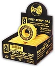 POLY-TEMP® Yellow Gas Line Tape (XHD)