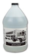 "Picture for category <p><strong>Convoy™</strong> is a breakthrough for commercial vehicle cleaning. Its balanced blend of biodegradable surfactants and detergent builders electrochemically penetrate and remove road film from transport vehicles without brushing. Most effective when used with a pressure washer.</p> <p><strong>Features and Benefits:</strong></p> <ul style=""list-style-type: disc;""> <li>Effective with hot or cold water</li> <li>Safe for all vehicle surfaces</li> <li>Brushless application, rinses easily</li> <li>Concentrated (See label for dilution details)</li> <li>No phosphates or solvents</li> <li>Excellent hard-water tolerance</li> <li>Reduces surface abrasion caused by brushes</li> <li>Safe on aluminumCleans by spontaneous emulsion, free of acids and ammonia</li> </ul> <p><strong>Applications:</strong> Trucks, autos, buses, railway and transit cars, military vehicles, construction and farm equipment.</p> <p>Please call 1-800-991-1106 for 55gal Drum price.</p> <p> </p>"